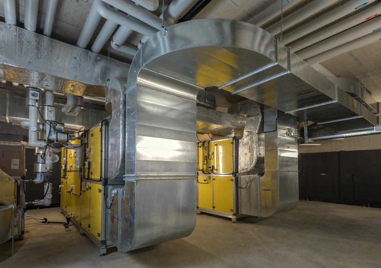 Monobloc de ventilation d'un nouveau bâtiment