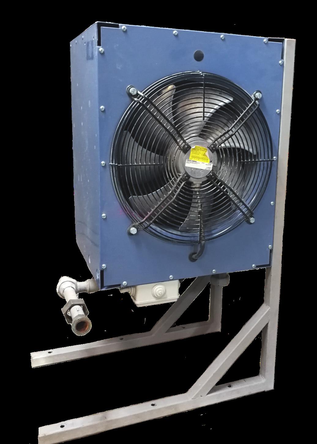 Aérochauffeur : système de chauffage temporaire