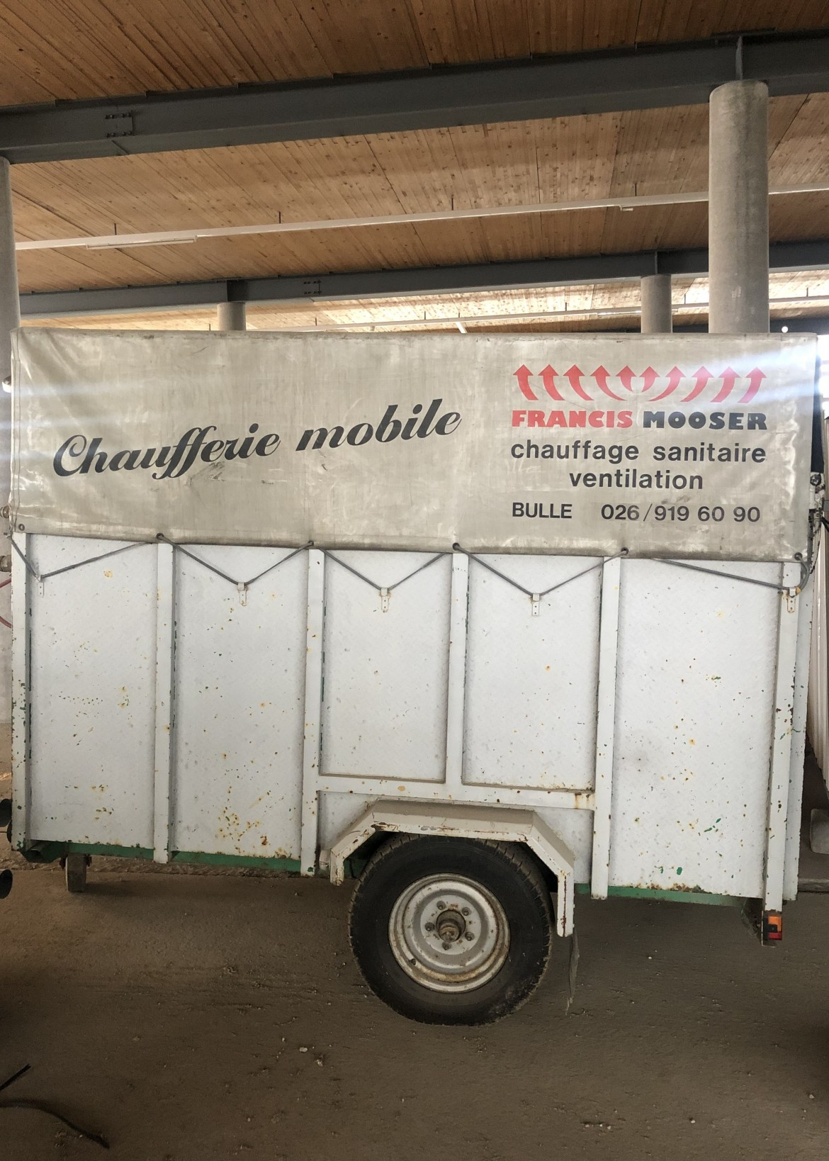 Chaufferie mobile